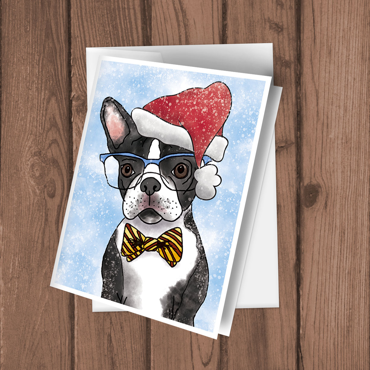 The 100 Postcards Project | Holiday Greeting Cards