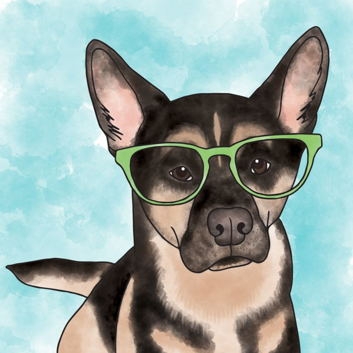 German-Shepherd-Illustration